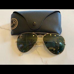Large frame Ray Ban Sunglasses